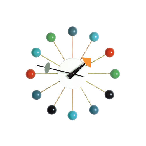 Wall Clock VITRA Ball Clock Colors