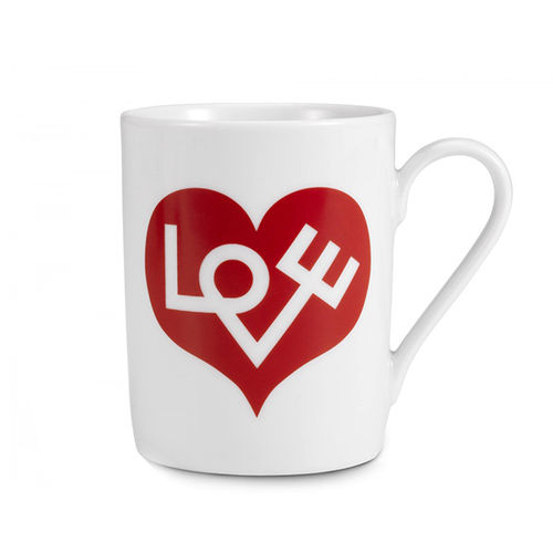 "Taza VITRA Coffee Mug ""Love Heart, Red"""