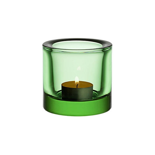 Portavelas IITTALA KIVI Votive 60mm Apple Green