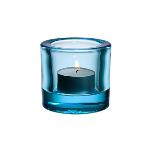 Portavelas IITTALA KIVI Votive 60mm Light Blue