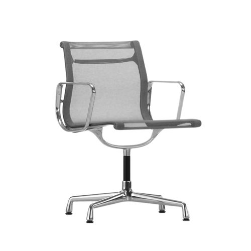 VITRA Aluminium Chair EA 104 Netweave Swivel