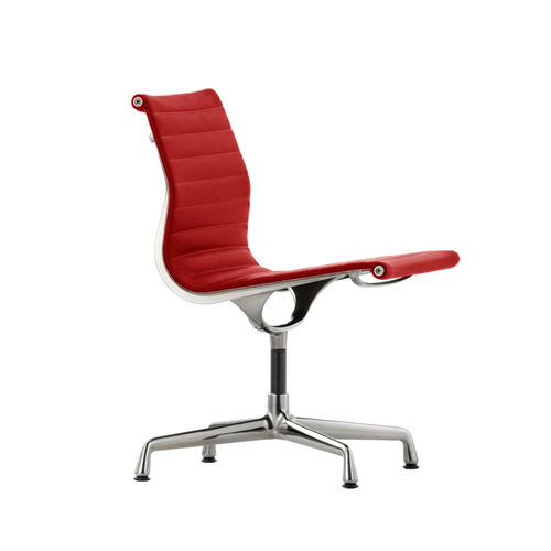 VITRA Aluminium Chair EA 105 Leather