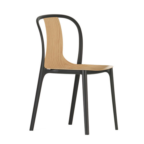 VITRA Belleville Chair Wood stackable