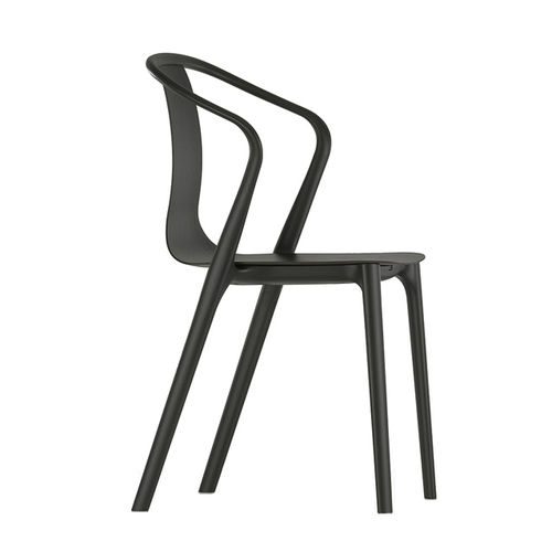 VITRA Belleville Armchair Wood stackable
