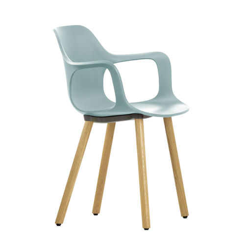Silla VITRA Hal Armchair Wood Roble Natural