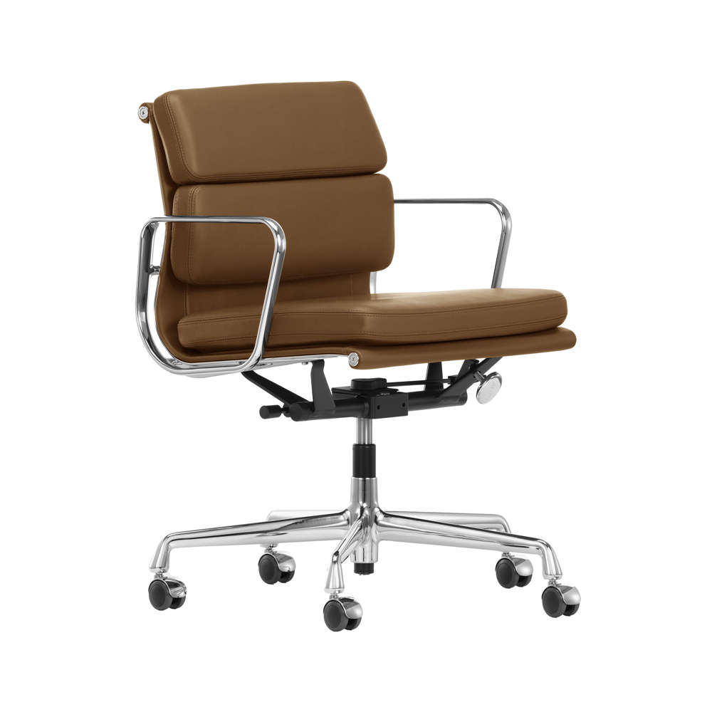 Outstanding Vitra Soft Pad Ea 217 Office Chair Leather Premium Bralicious Painted Fabric Chair Ideas Braliciousco