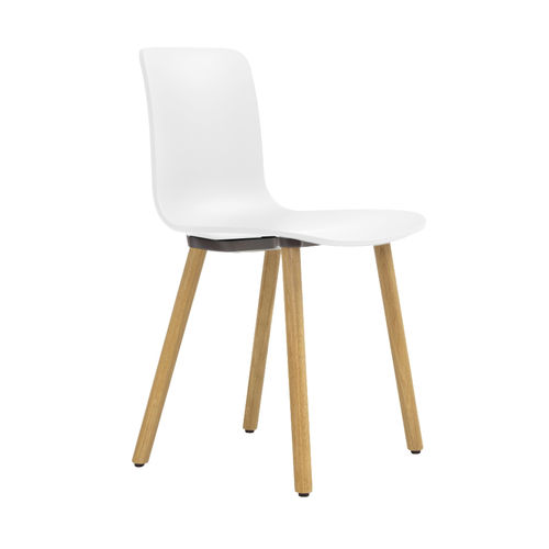 Silla VITRA Hal Wood Roble Natural