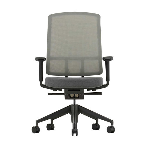 Silla VITRA AM Chair con brazos 3D Gris