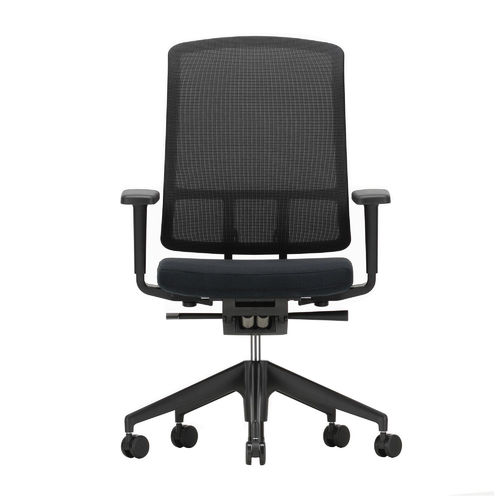 Silla VITRA AM Chair con brazos 3D Negro